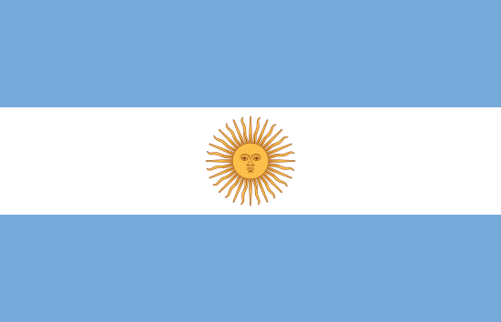 Flag of Argentina for Timezone