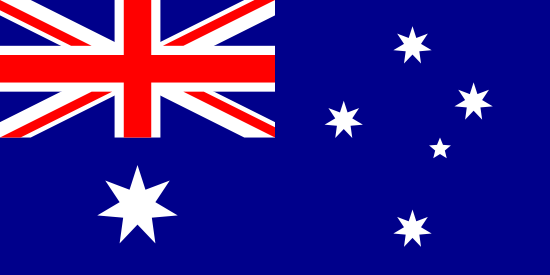 Flag of Australia for Timezone