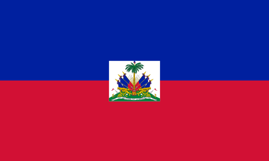 Flag of Haiti for Timezone
