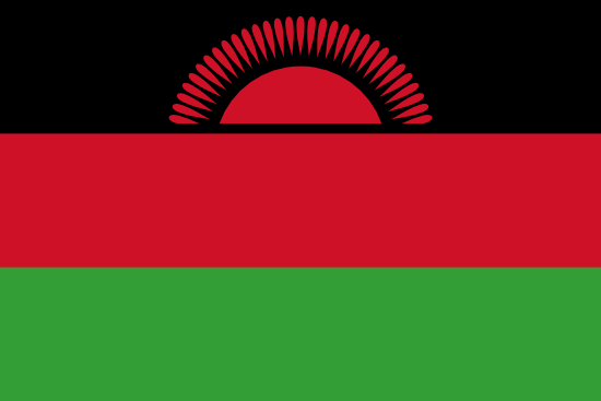 Flag of Malawi for Timezone