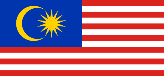 Flag of Malaysia for Timezone